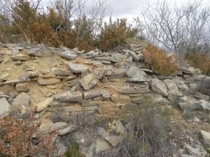 Ruinas al sur de la iglesia