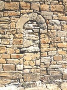 Puerta tabicada al sur