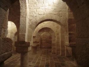 012. Monasterio de Leyre. Cripta
