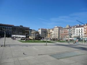 Pamplona. Plaza del Castillo