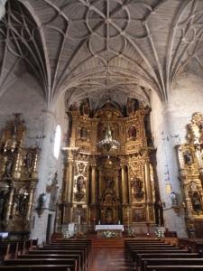 Puente la Reina. Iglesia de Santiago. Interior