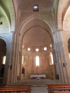 Monasterio de Irache. Interior de la iglesia