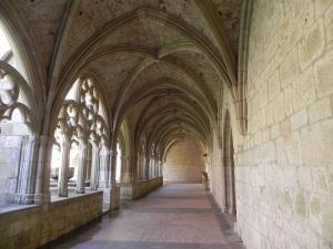 Monasterio de Iranzu. Claustro