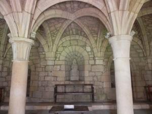 Monasterio de Iranzu. Claustro. Sala capitular