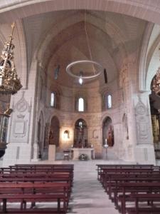 San Pedro de la Rúa. Interior de la iglesia