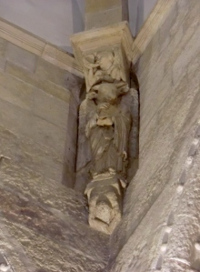 San Prudencio de Armentia, Cimborrio. San Lucas