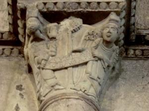 Santa María de Estibaliz. Capitel