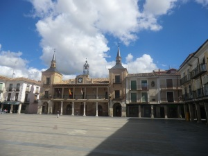 El Burgo de Osma. Plaza Mayor