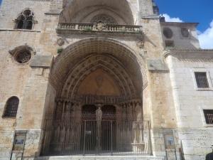 El Burgo de Osma. Catedral. Portada