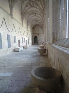 El Burgo de Osma. Ala del claustro