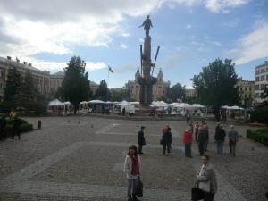 Cluj. Plaza Avram Iancu