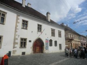 Cluj. Casa de Matías Corvino