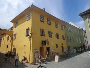 Sighisoara. Casa de Vlad Tepes