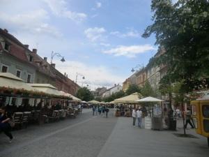 Sibiu. Calle N. Balcescu