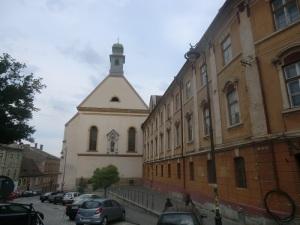 Sibiu. Iglesia de las Ursulinas