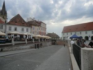 Sibiu. Plaza Pequeña