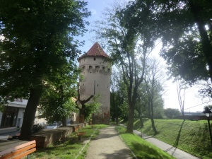 Sibiu. Boulevard Spitelor