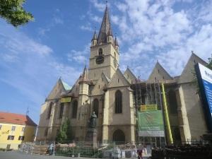 Sibiu. Iglesia evangélica