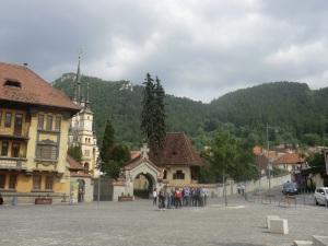Brasov. Plaza Unirii