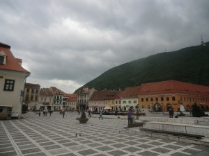 Brasov. Plaza Sfatului
