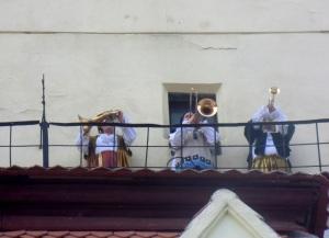 Brasov. Torre de las Trompetas