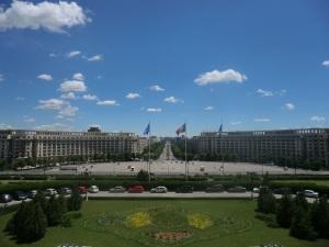 Bucarest. Desde el Parlamento