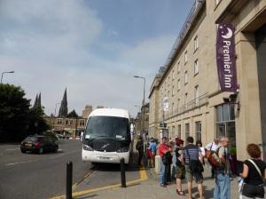 Edimburgo. Llegada al hotel
