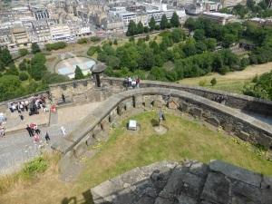 Edimburgo. Castillo. Cementerio de los perros de los soldados