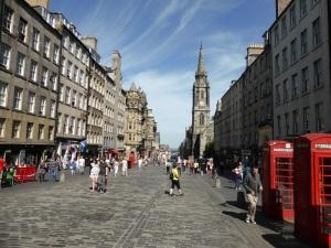 Edimburgo. Royal Mile