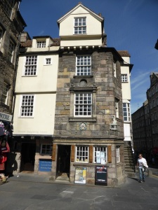 Edimburgo. Royal Mile. Casa de Jhon Knox