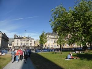 Edimburgo. Plaza San Andrés