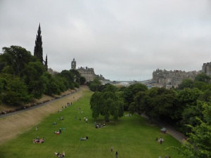 Edimburgo. Jardines