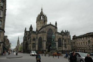 Edimburgo. Royal Mile. Catedral de St. Gilles
