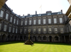 Edimburgo Palacio de Holiroodhouse