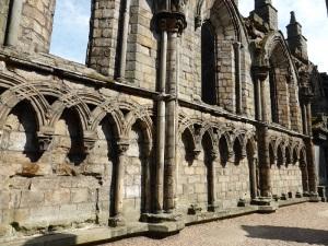 Edimburgo Palacio de Holiroodhouse. Abadía