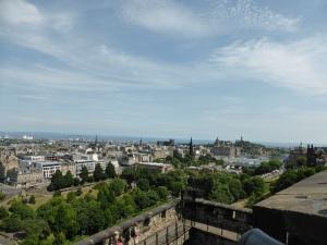 Edimburgo desde el castillo