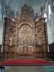 Perigueux. Catedral de St- Front. Retablo del ábside