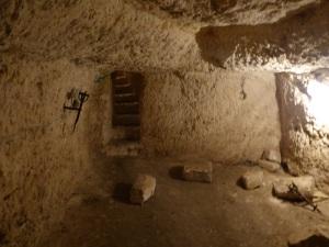 San Martín de Meursac. Cripta