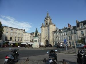 La Rochelle. Torre del Gran Reloj
