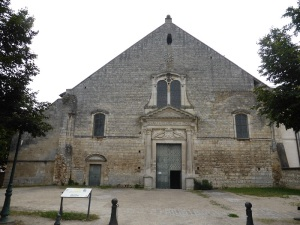 Poitiers. San Juan de Montierneuf