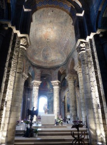 Poitiers. Notre Dame la Grande. Presbiterio