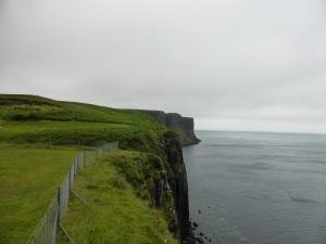 Isla de Sky. Acantilados de Kilt Rock