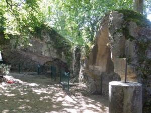 Périgueux. Ruinas del antiguo anfiteatro