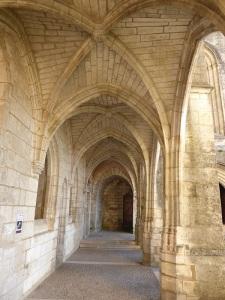 Brantôme. Abadía.   Restos del claustro