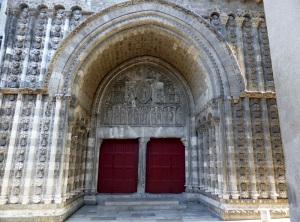 Cahors. Catedral. Portal norte