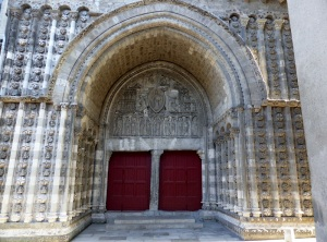 Cahors. Catedral. Portal norte
