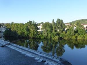 372. Cahors. El Lot desde el Puente Valentré