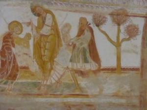 Saint Savin sur Gartempe. Pinturas de la bóveda de la nave