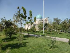 018. Taskent. Plaza Jast Imom. Mezquita Telyashayaj