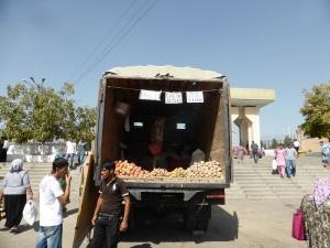 038. Taskent. Bazar Chorsu